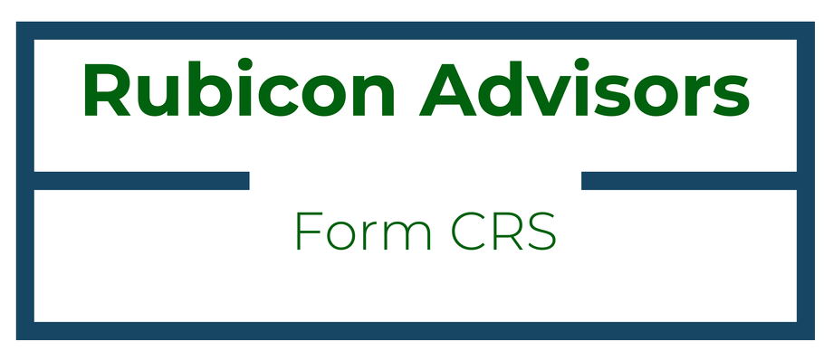 Rubicon Advisors Form CRS